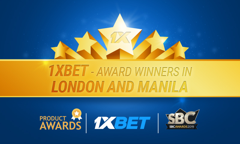 more awards for 1xbet