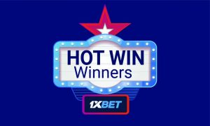 1xBet presents prizes for the Hot Win Promotion